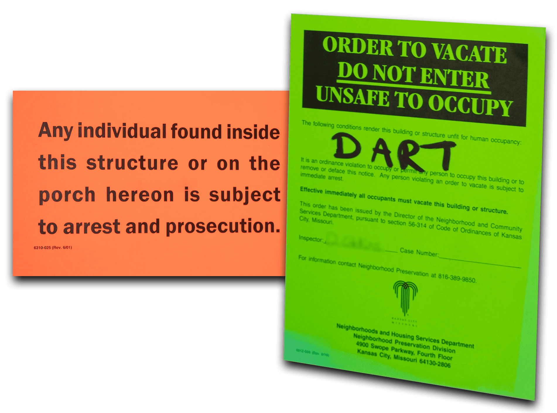 Notices To Vacate