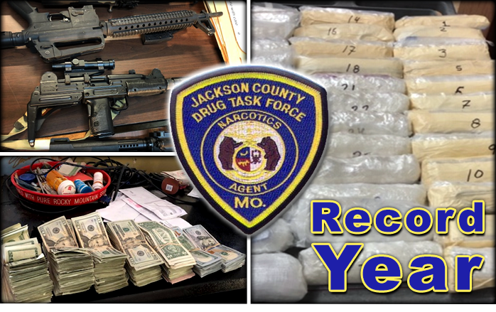 Drug Task Force Has Record Setting Year
