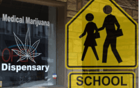 Medical Marijuana Dispensaries and their location near schools