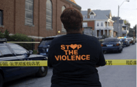 Mothers In Charge Founder At Homicide Scene