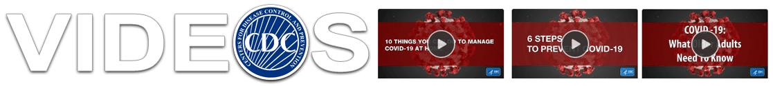 CDC Coronavirus Videos