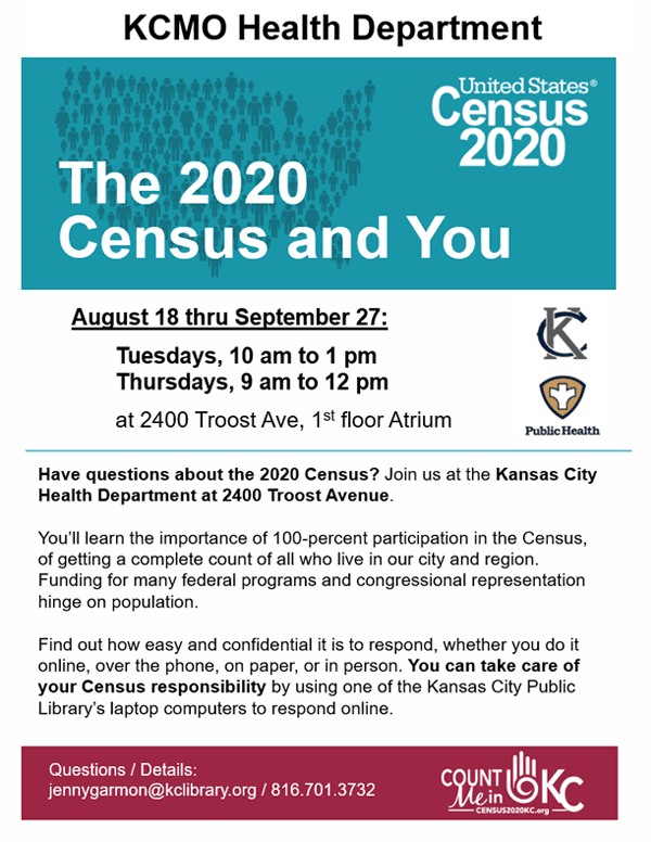 KC Health Department Census Flyer