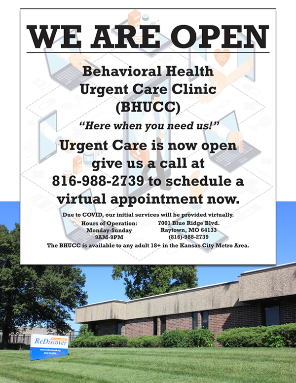ReDiscover Urgent Care Clinic Flyer