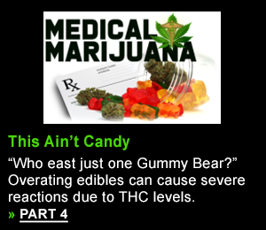 """Who eats just one Gummy Bear?"" Overeating edibles can cause severe reactions due to THC level"