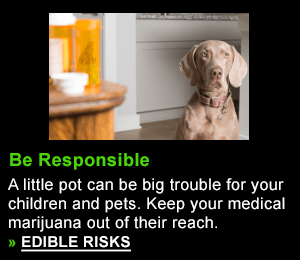 A little pot can be big trouble for your children and pets. Your medical marijuana must be kept out