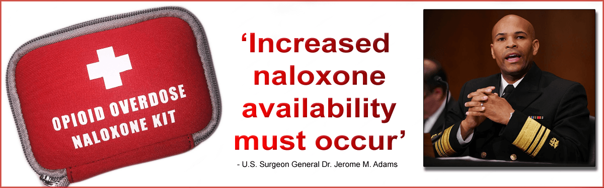Increase availability to naloxone crucial to prevent opioid overdose deaths