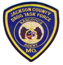Jackson County Drug Task Force Patch