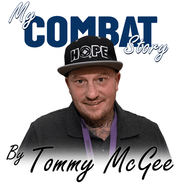 My COMBAT Story By Tommy McGee