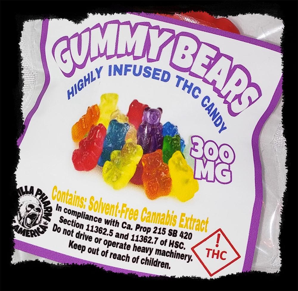 Stars Of Death Edible Gummies