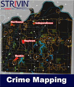STRIVIN Crime Mapping Button