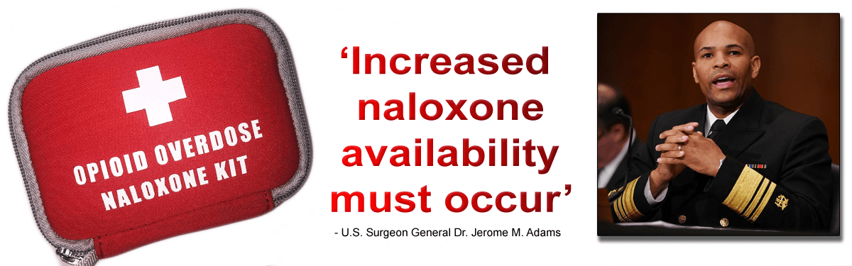 Naloxone Availability Needs To Increase